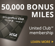 AD: Learn more about earning 50,000 bonus miles and a United Club Membership with the United MileagePlus Club Card.