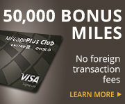 AD: Learn more about earning 50,000 bonus miles and no foreign exchange fees with the United MileagePlus Club Card.