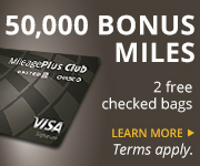 AD: Learn more about earning 50,000 bonus miles and two free checked bags with the United MileagePlus Club Card.