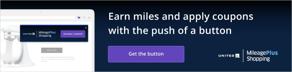 Compras MileagePlus® de United, active dos millas por dólar. Gane millas y aplique los cupones con tan solo presionar un botón. Instale el botón Compras MileagePlus para activar directamente las millas en más de novecientas tiendas conocidas. Obtenga el botón. Calificación de la tienda de Chrome: cinco estrellas.