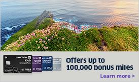 Offers up to 100,000 bonus miles. Learn more
