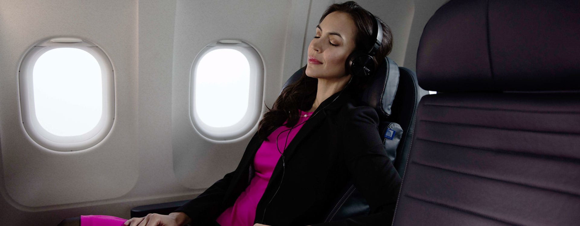 Stretch out and relax with premium cabin service in United Business®
