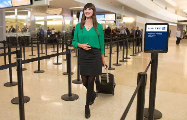 Otimize o seu tempo no aeroporto com os benefícios Premier Access®