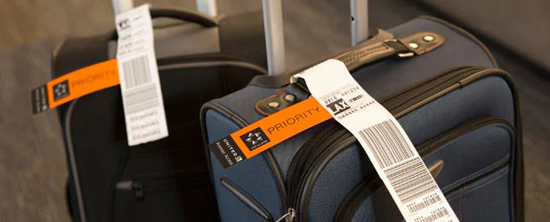 Check your bags with no service charges