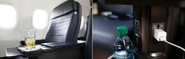 Seat features