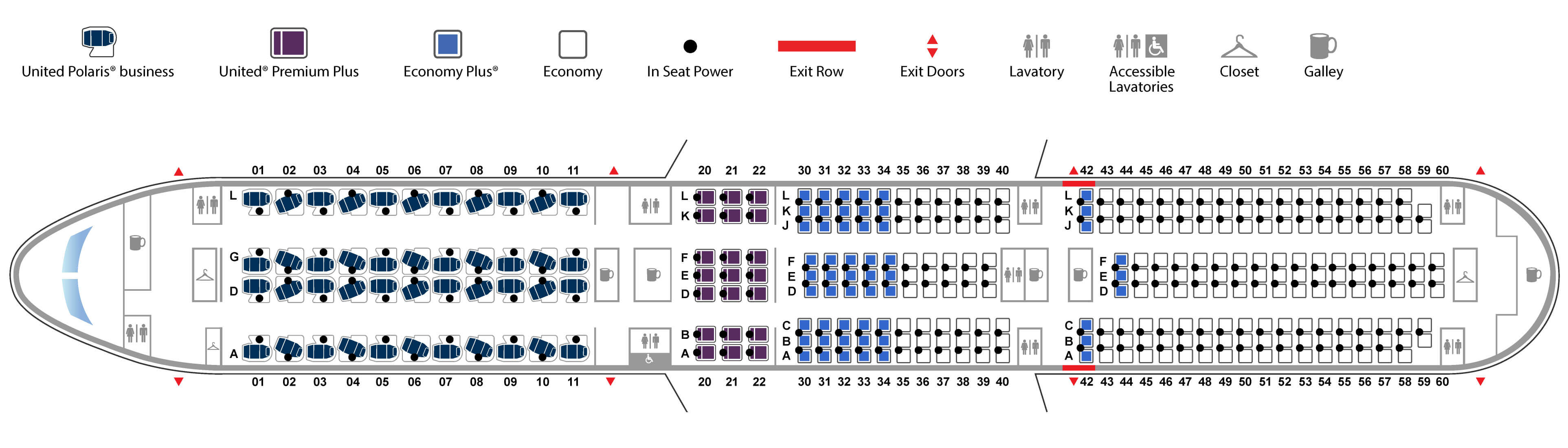 Boeing 787-10 United Airlines seating