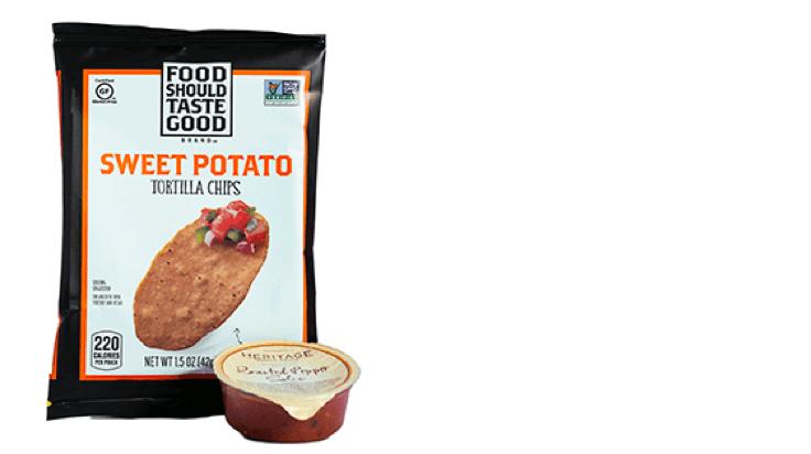 Image of Food Should Taste Good™ Chips & Salsa snack size