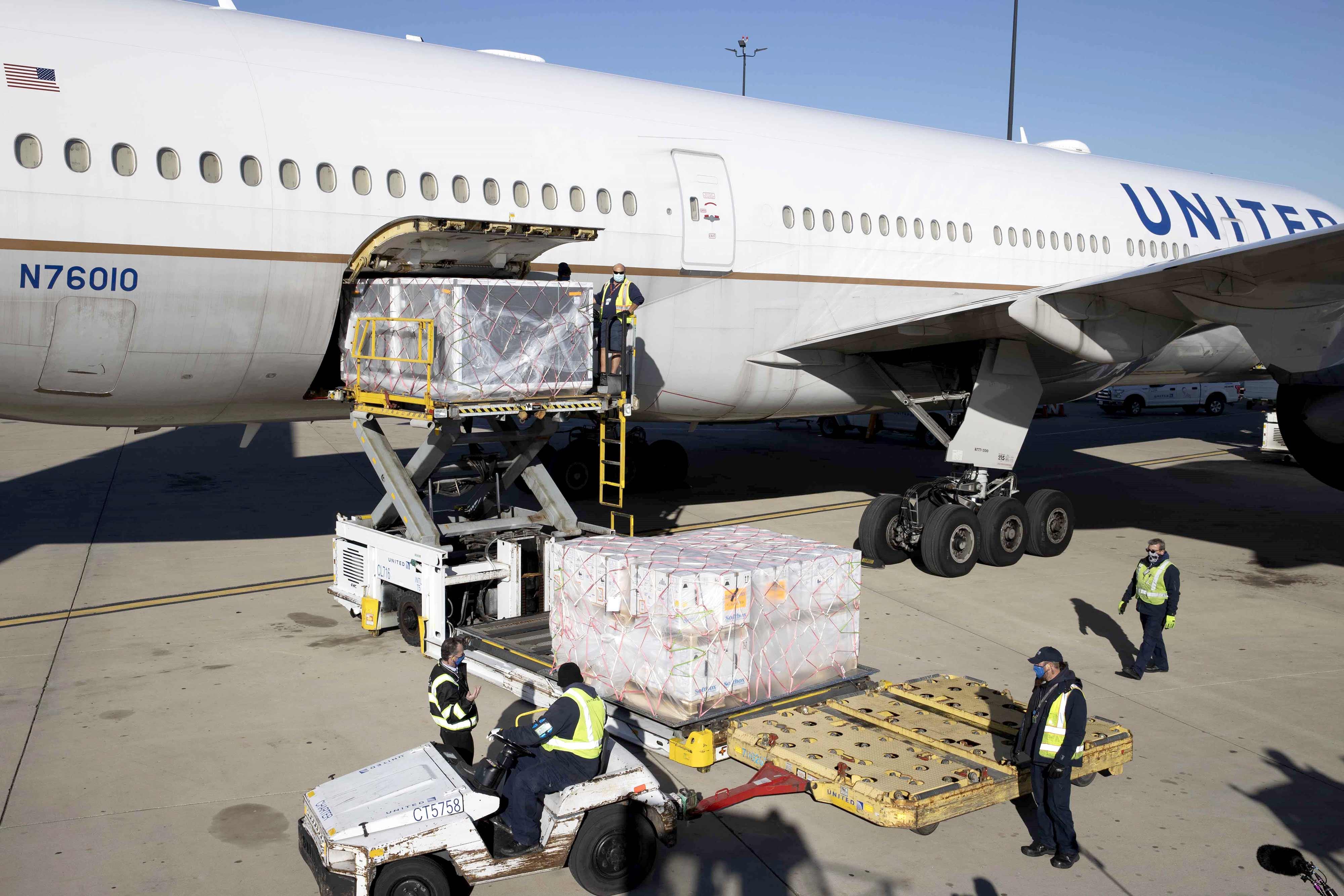 United Cargo loading
