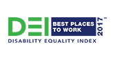 Disability Equility Index - 2017 Best Places to Work