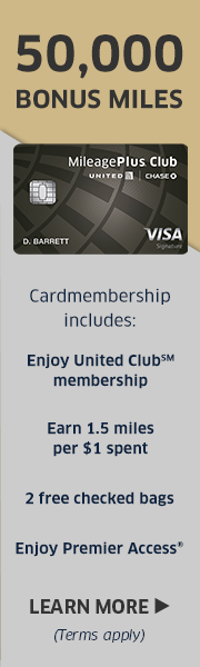 AD: Learn more about earning 50,000 bonus miles and enjoying a United Club Membership with the United Club Card.