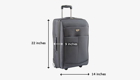 Small Suitcase Dimensions