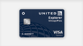 The All-New United Explorer Card