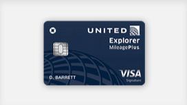the all new united explorer card - United Visa Credit Card