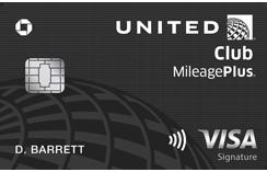 美联航贵宾室 (United Club) 卡 | Visa