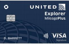 United explorer card | Visa