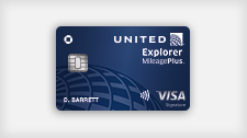 United Explorer MileagePlus Visa