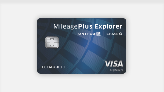 MileagePlus Explorer Card by Chase