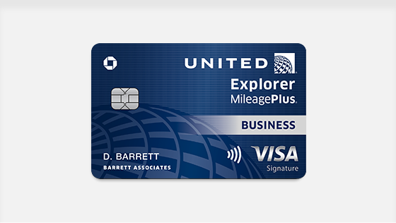 United Airlines business credit cards